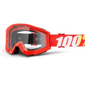 100% Strata goggles rood